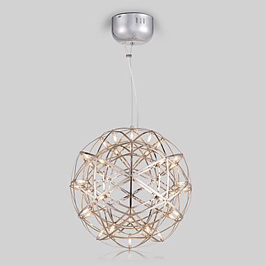 Globe Vedhæng Lys Baggrundsbelysning Malede finish Metal LED 110-120V / 220-240V Gul / Hvid Pære Inkluderet / G4