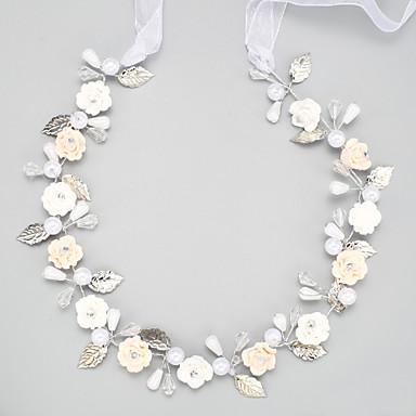 Krystal / Imiteret Perle / Legering Pandebånd med 1 Bryllup / Speciel Lejlighed Medaljon