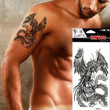 Tatuagens Adesivas Séries Animal não tóxica Á Prova d'água Feminino Masculino Adulto Adolescente Tatuagem Adesiva Tatuagens temporárias