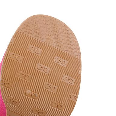 Femme Heel Bottes Vert Talon Bottes Bottier 05291925 à Bleu Hiver Block Chaussures la Automne Rouge Boucle Mode Similicuir Rwqr1R7