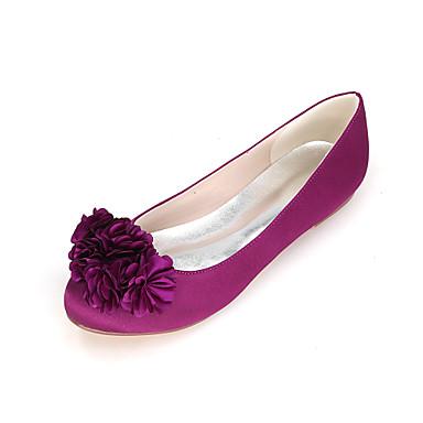 Bout Eté Printemps Bleu Invalide mariage Plat Invalide Satin Confort Imitation Chaussures Chaussures 06457970 de Femme Talon rond Perle tEqPwFaF