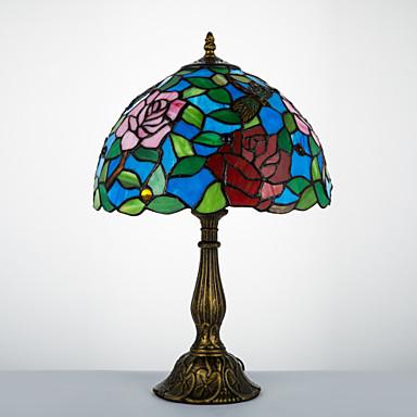Tiffany Traditioneel /Klassiek Boog Bureaulamp Voor Hars 110-120V 220-240V