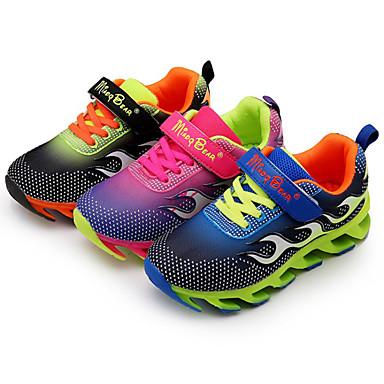 Jongens Schoenen PU Lente Herfst Comfortabel Sneakers Voor Sportief Causaal Zwart Blauw