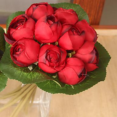 Kunstige blomster 1 Afdeling Brudebuketter Lotus Bordblomst