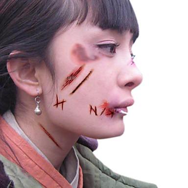 5pcs Tatoeagestickers Overige Patroon / Halloween / 3DBaby / Kind / Dames / Girl / Heren / Volwassene / Boy / Tiener Flash Tattoo