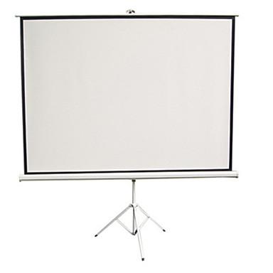 uitstekende brief projectiescherm 100 inch 4 3 eenvoudige home hd draagbare projector screen witte plastic houder