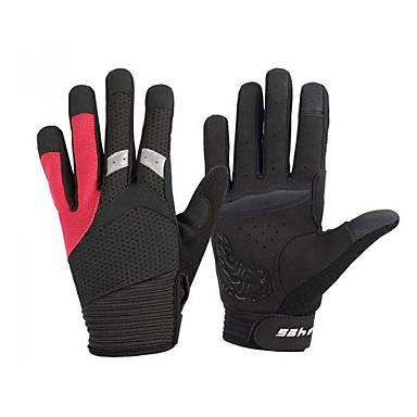 スポーツグローブ タッチグローブ 保温 耐久性 耐摩耗性 保護 バクテリア対応 フルフィンガー スパンデックス 綿繊維 スキー 登山 サイクリング / バイク 女性用