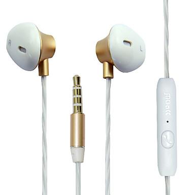 Magcc M8 EARBUD Bekabeld Hoofdtelefoons Dynamisch Mobiele telefoon koptelefoon met microfoon koptelefoon