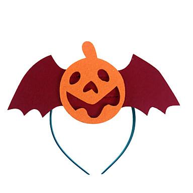 (Padrão é aleatório) 1pc abóbora de Halloween cabeça bruxa fivela adereços festa à fantasia