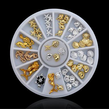 1 pcs Joyas de Uñas Encantador arte de uñas Manicura pedicura Diario Glitters / Metálico / Moda / Joyería de uñas