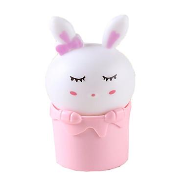 センサ制御は、ウサギの夜の光プラグチャージ壁ランプベッドランプ赤ちゃんの夜のランプ子供部屋の誕生日の贈り物を主導しました
