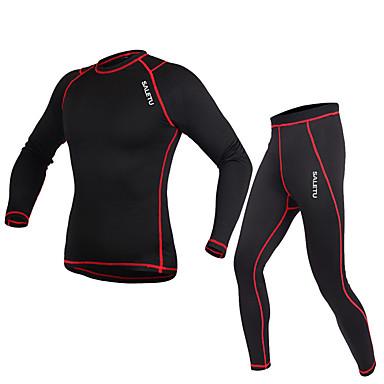 Unisex Mangas largas Carrera / Running Leggings Tops Prendas de abajo Sets de Prendas/Trajes Transpirable Primavera Otoño Ropa deportiva