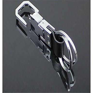 couro anel chave anel homens chave do carro bicíclico cintura pendurado pingente da corrente chave
