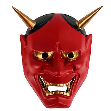 voordelige Maskers voor de feestdagen-Halloweenmaskers Practical joke Gadget Hallloween figuren Carnavalsmaskers Schedelmasker Muovi Nieuwigheid Geest Horrorthema Volwassenen Unisex Jongens Meisjes