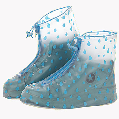 abordables Accessoires pour Chaussures-2pcs Fitness, course et yoga Couvre-chaussures Plastique Toutes les Chaussures Toutes les Saisons Femme Rouge / Bleu / Rose