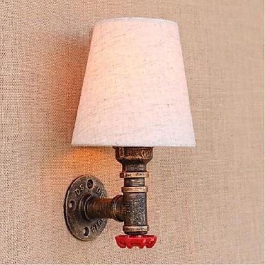 ac 220v-240v 3W E27 bg081 maalaismainen / jättää messinki ominaisuus lamppu includedambient valon tuulettimet seinävalaisin