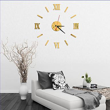 Moderno/Contemporâneo Escritório/Negócio Casas Família Escola/Graduação Amigos Relógio de parede,Inovador Acrilico Vido 40 Interior