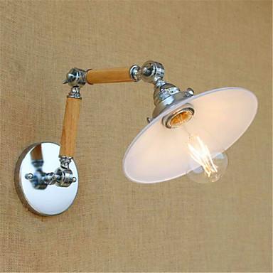 Moderne / Nutidig Swing Arm Lights Metall Vegglampe 110-120V / 220-240V 4W