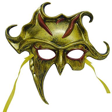 1pc ms maskerademasker voor Halloween kostuum partij willekeurige kleur