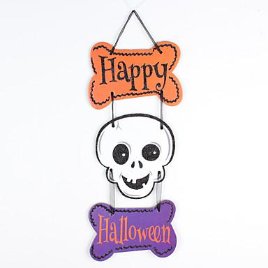 1pc halloween phantom schedel pompoen drie hangen versieringen