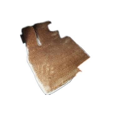 zijdebrokaat zijde langharige high-end luxe auto vloermat waterproof non-slip vloermatten