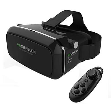 virtuell virkelighet hodesett vr shinecon 3d film spill briller casque tommers smartphone whit remote gamepad