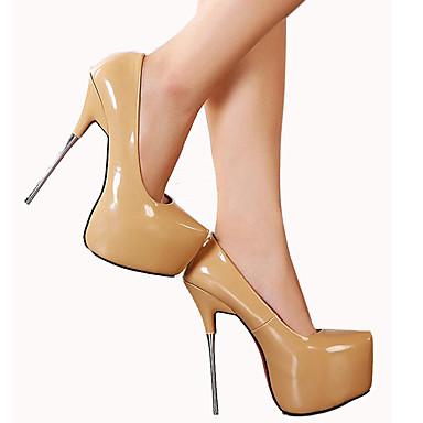 Talons Aiguille Amande Rouge Talon Printemps Femme Automne pointu Chaussures 05335628 Plateau Bout Polyuréthane Chaussures à Pêche 6Yx6Rqa8w