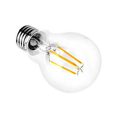 1pc 3000/6000 lm E26/E27 LED Küre Ampuller A60(A19) 4 led COB Dekorotif Sıcak Beyaz Serin Beyaz AC 110-130V AC 220-240V