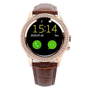 Reloj elegante para iOS / Android Monitor de Pulso Cardiaco / GPS / Llamadas con Manos Libres / Video / Cámara Temporizador / Seguimiento de Actividad / Seguimiento del Sueño / Encontrar Mi / 1.3 MP
