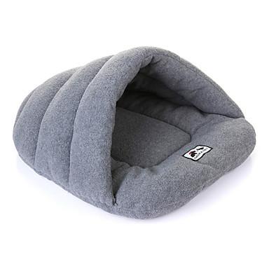 ネコ 犬 ベッド ペット用 マット/パッド ソリッド 高通気性 ソフト グレー ローズ Brown グリーン ブルー
