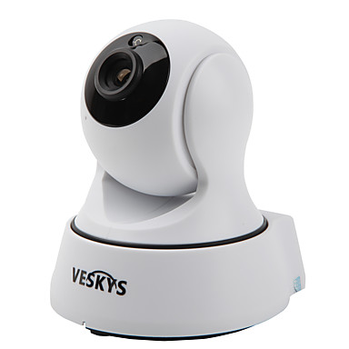 veskys® t4 720p 1.0mp wi-fi sikkerhet ip kamera (dag natt / bevegelsesdeteksjon / fjerntilgang / ir-cut / plug and play)