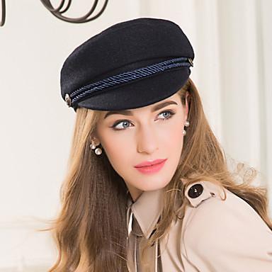 Lana / Poliéster / Legierung Sombreros con 1 Boda / Ocasión especial / Casual Celada