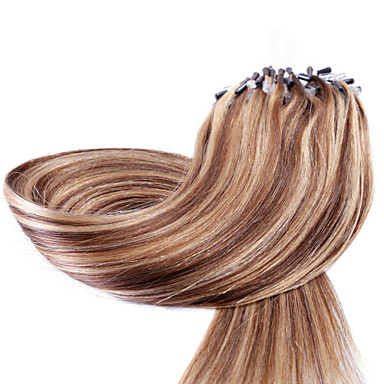 Neitsi Micro Ring Hair Extensions Human Hair Extensions Straight