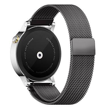 Klokkerem til Gear S3 Frontier Samsung Galaxy Milanesisk rem Metall Rustfritt stål Håndleddsrem