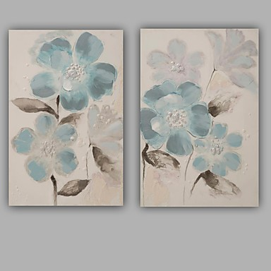 手描きの抽象的な/花/植物モダン/古典的な1パネルのキャンバスの油絵