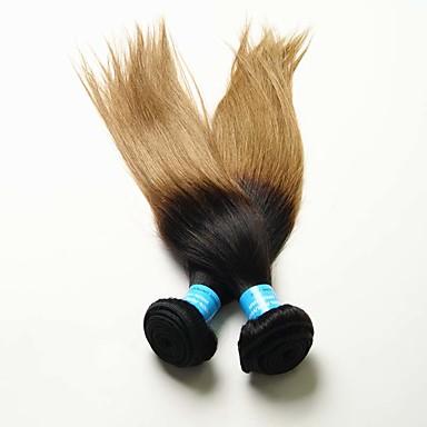 Nyanse Peruviansk hår Rett 12 måneder 1 Deler hår vever