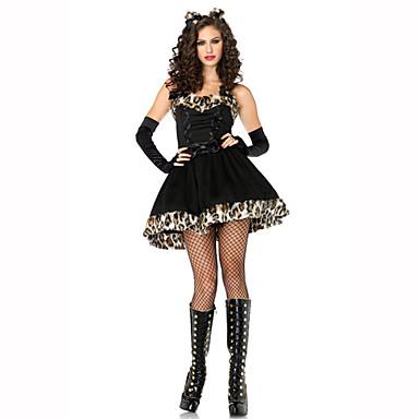 Naiset Halloween Joulu Karnevaali Uusi vuosi Oktoberfest Lasten päivä Festivaali/loma Halloween-asut Painettu
