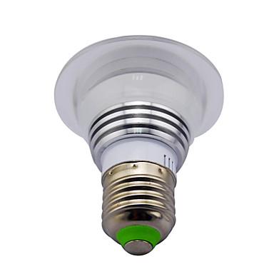 3W 120 lm E14 GU10 E26/E27 B22 LED-älyvalot MR16 1 ledit Teho-LED Infrapunasensori Himmennettävissä Koristeltu Kauko-ohjattava RGB AC
