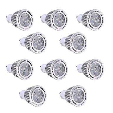 GU10 LEDスポットライト 5 LEDの SMD 3030 装飾用 温白色 クールホワイト 450-500lm 2800-3200/6000-6500K AC 85-265V