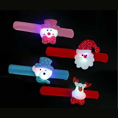 4 osainen LED Night Light Monivärinen Pienikokoiset Kompakti koko
