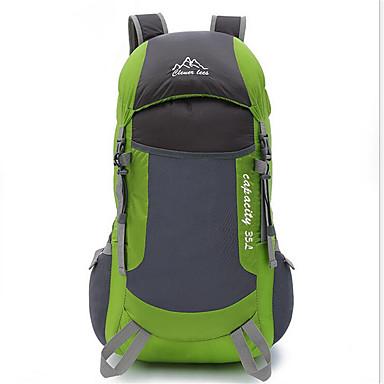 35 L バックパック サイクリングバックパック バックパッキング用バックパック キャンピング&ハイキング 登山 レジャースポーツ サイクリング / バイク 防水 高通気性 耐衝撃性の ナイロン