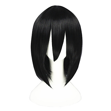 Pelucas de Cosplay Fullmetal Alchemist Akari Animé Pelucas de Cosplay 35cm CM Fibra resistente al calor Hombre Mujer