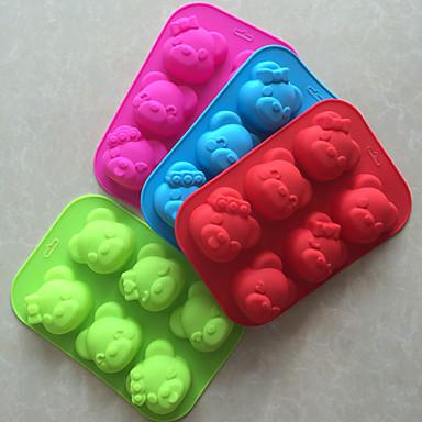 1個のパンの金型ベーキングモールドケーキ型3D液状シリコーン創造的な石鹸