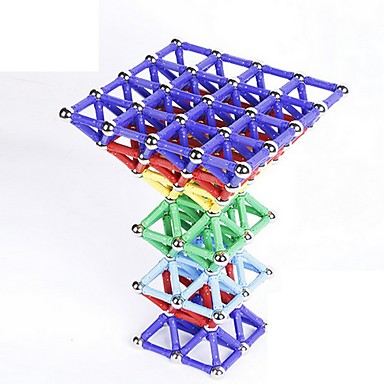 磁気ブロック ギフトのため ブロックおもちゃ アイデアおもちゃ サーキュラー 円筒形 メタル 5~7歳 8~13歳 14歳以上 グリーン ブラウン 白 おもちゃ