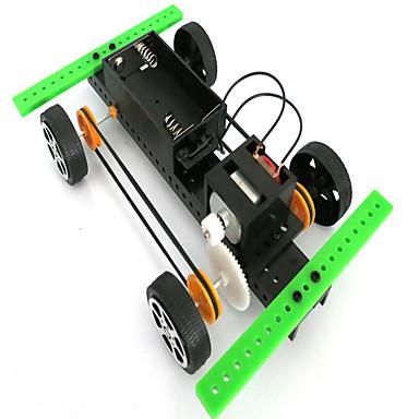 Aurinkoenergialla toimivat lelut auton Lelut Muovi Vihreä Rakennuslelu