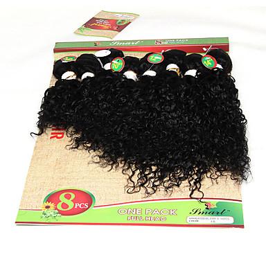 Cabello Brasileño Rizado / Tejido rizado Cabello humano Tejidos Humanos Cabello Cabello humano teje Extensiones de cabello humano