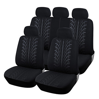 autoyouth új hurkolt szövet teljes autó üléshuzat univerzális illik a legtöbb márkájú autók üléshuzatok fekete autó ülés védő