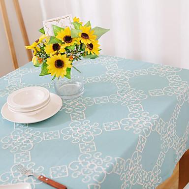 Neliö Patchwork Patterned Table Cloths , Cotton Blend materiaali Hotel ruokapöytä Taulukko Dceoration