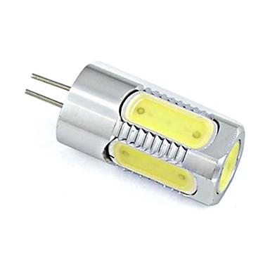 150-200lm G4 LED Bi-Pin lamput 5 LED-helmet COB Lämmin valkoinen Kylmä valkoinen 12V