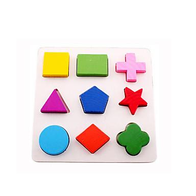 voordelige Rekenspeelgoed-Montessori lesmateriaal Bouwblokken 3D-puzzels Noviteit Onderwijs Hout Jongens Meisjes Speeltjes Geschenk